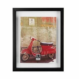 "Umbra 316280-040  15-1/8"" x 12-1/8"" Polystyrene Free Standing Picture Frame - Walnut"