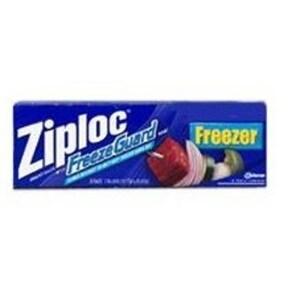 "Ziploc 1132 Freezer Bags 13"" x 15-3/8"""