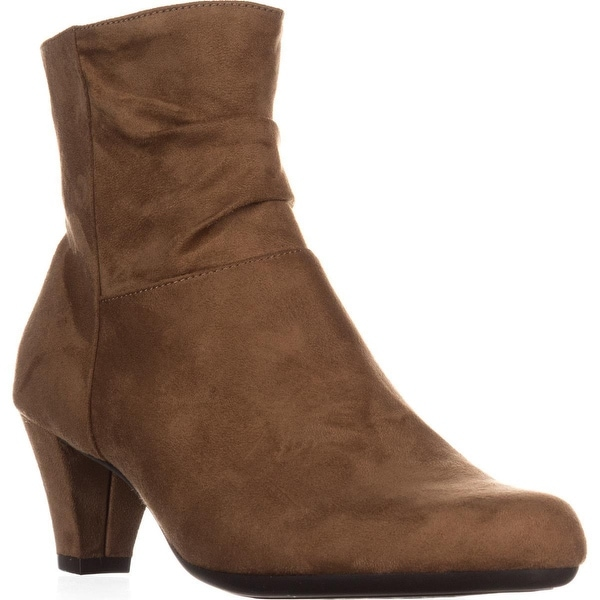 Aerosoles Shore Fit Ankle Boots, Tan - 9 us