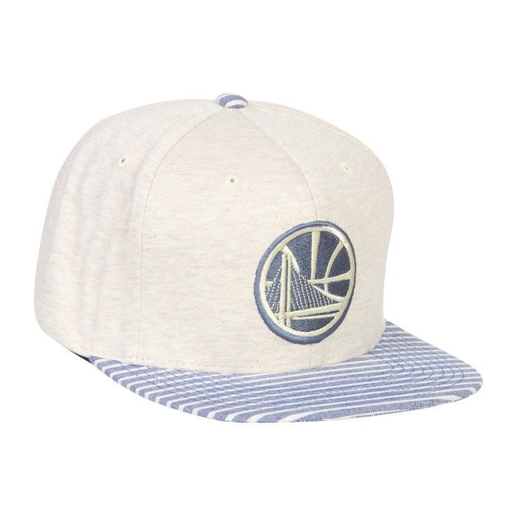 premium selection 5eaaf 3fc83 Shop Mitchell   Ness Golden State Warriors Oatmeal Heather - Free Shipping  On Orders Over  45 - Overstock - 17224346