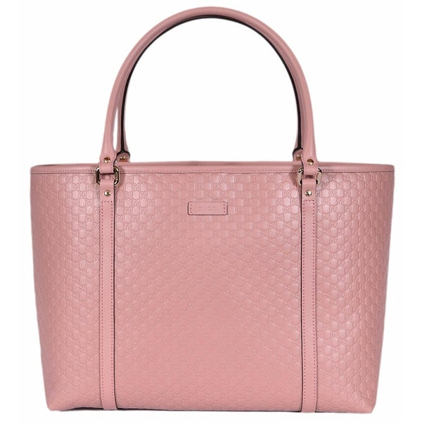9260552ea0a Gucci 449647 Soft Pink Leather Micro GG Guccissima Joy Purse Handbag Tote -  16