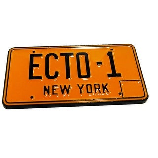 Ghostbusters Ecto-1 License Plate Collectible Pin, NYCC '17 Exclusive - multi