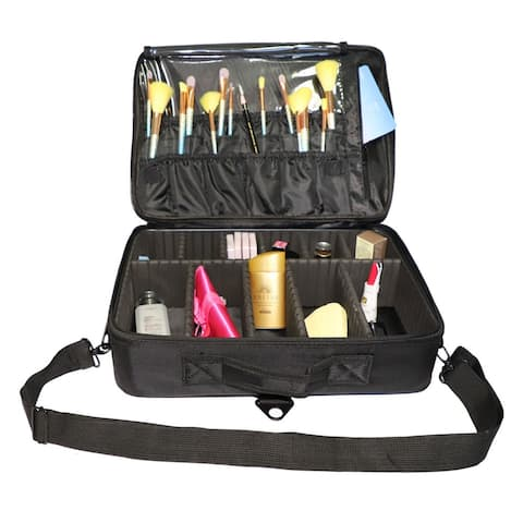 Professional High-capacity Multilayer Portable Travel Makeup Bag - M