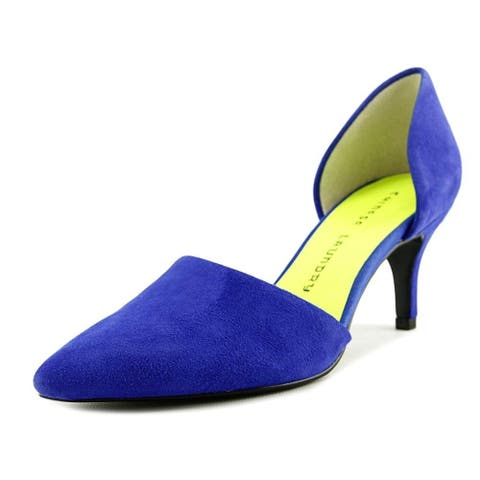 f03d219b65b8 Chinese Laundry Womens off beat Suede Pointed Toe D-orsay Pumps - 5.5