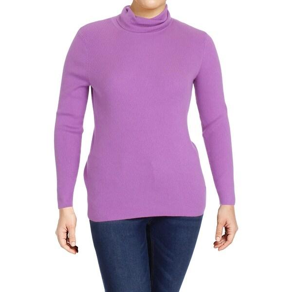 Shop Lauren Ralph Lauren Womens Plus Turtleneck Sweater