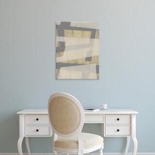 Easy Art Prints Jennifer Goldberger's 'Diagonal Layers I' Premium Canvas Art