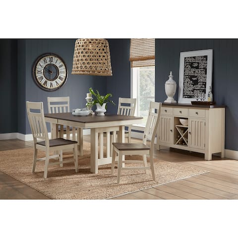 Simply Solid Bronwyn Solid Wood 5-piece Dining Collection