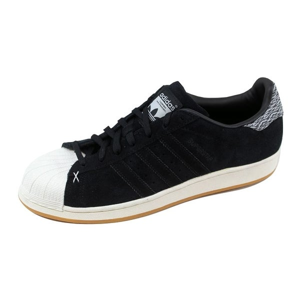 Adidas Men's Superstar Black/Black-Optic White Camo B27737