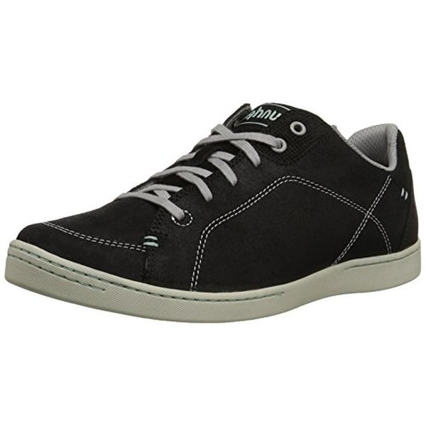 Ahnu Womens Noe Casual Shoes Leather Contrast Stitching