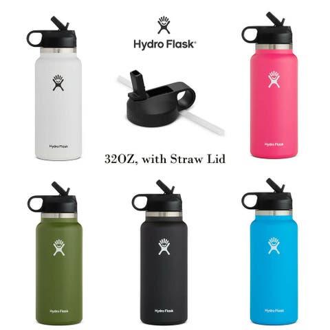 Hydro Flask 32 oz.Water Bottle Wide Mouth 2.0 Bottle, Straw Lid