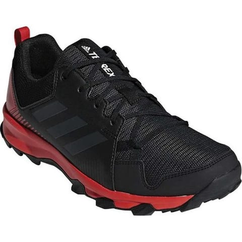 c9a5adf75 adidas Men's Terrex Tracerocker Trail Shoe Black/Carbon/Active Red