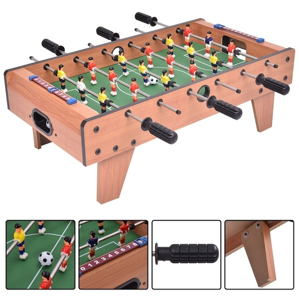 Costway 27'' Foosball Table Competition Game Room Soccer football