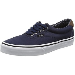 Vans U Era 59 (Cord & Plaid) Sneakers (10.5 US Women/9 US Men, Blues/White)
