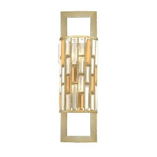 Fredrick Ramond FR33730 2 Light Wall Sconce from the Gemma Collection