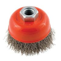 """Forney Industries 72755 Crimped Wire Cup Brush, 2-3/4"""""""
