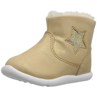 Step & Stride Girls Galica Ankle Pull On Chukka Boots