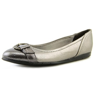 Life Stride Nero W Round Toe Synthetic Flats