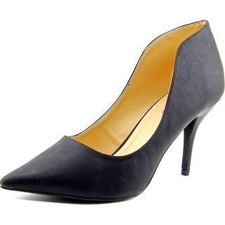 Dolce by Mojo Moxy Tammy Women  Pointed Toe Synthetic Black Heels
