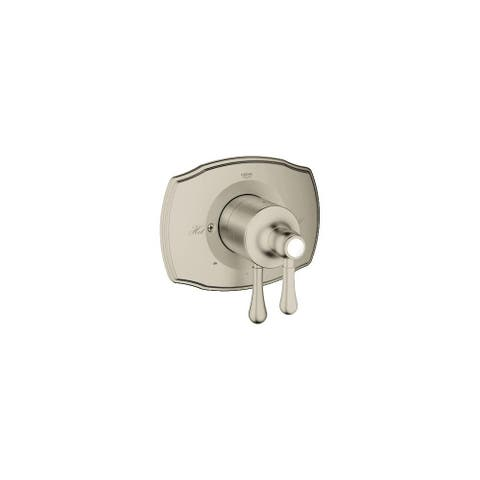 Grohe 19 844 GrohSafe 2000 Authentic Dual Function Pressure Balance Shower Trim with Integrated Volume Control and 2-Way