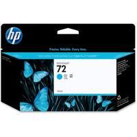 HP 72 130-ml Cyan DesignJet Ink Cartridge (C9371A) (Single Pack)