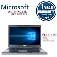 "Refurbished Dell Latitude D830 15.4"" Intel Core 2 Duo 1.8GHz 4GB DDR2 250GB DVD Win 10 Home 64 (1 Year Warranty) - gray"