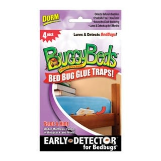 BuggyBeds 70460 Bed Bug Glue Traps For Dorm