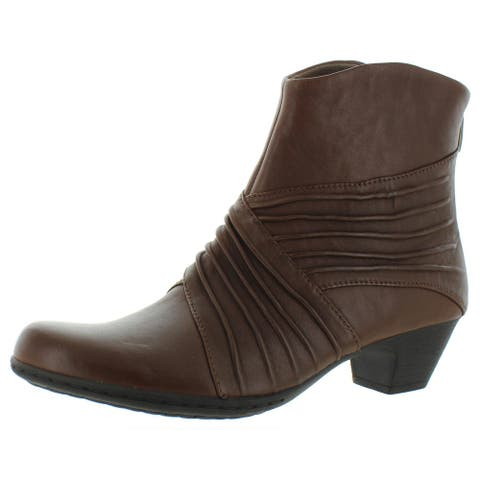 Rockport Womens Brynn Ankle Boots Leather Comfort