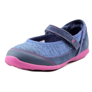 Stride Rite M2P Terry Youth Round Toe Synthetic Blue Mary Janes