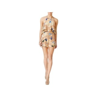 ASTR the Label Womens Romper Ruffle Tiered