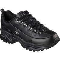 Skechers Women's Energy 3 Premium Black  Leather (B)