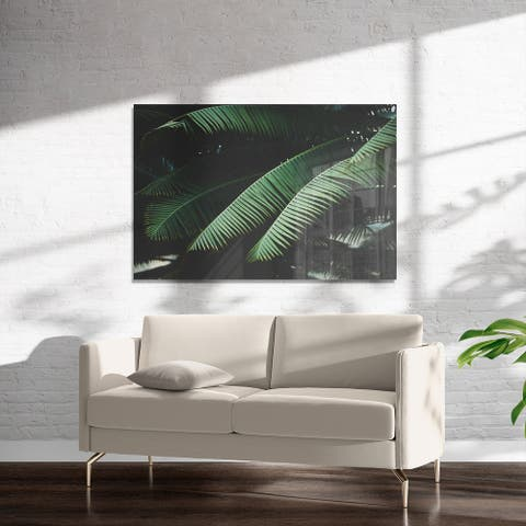 NIGHT IN THE TROPICS Art on Acrylic By Ann Hudec