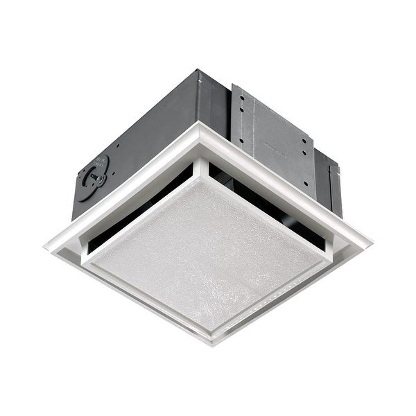 NuTone 682NT Non-Ducted Ceiling or Wall Mounted Bath Fan - white polymeric