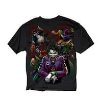 DC Comics Men's Villains Paint Shirt