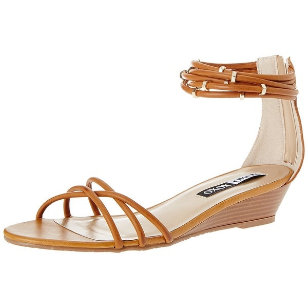 XOXO Women's Donna Wedge Sandal