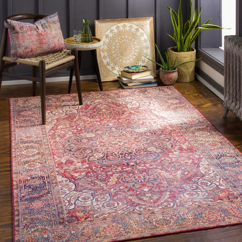 Refton Persian Printed Area Rug