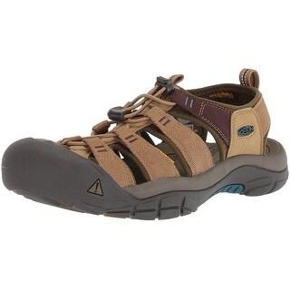 Keen Mens Newport hydro Bungee Closed Toe Sport Sandals - 7.5