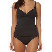 e9657e6317f35 Shop Bleu Rod Beattie Blue Womens Size 8 Tankini Top Halter Swimwear ...