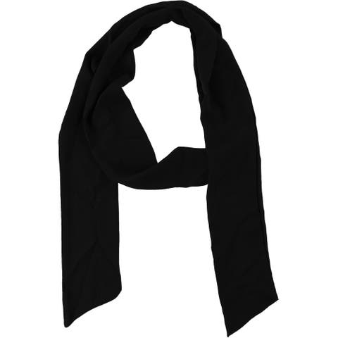 Belle du Jour Womens Basic Scarf, black, One Size - One Size