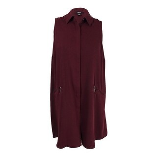 Alfani Women's Plus Size Trapeze Shirtdress