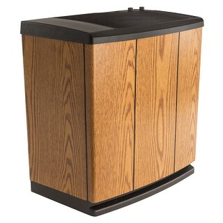 AIRCARE Evaporative Humidifier Console, H12300HB - Light Oak