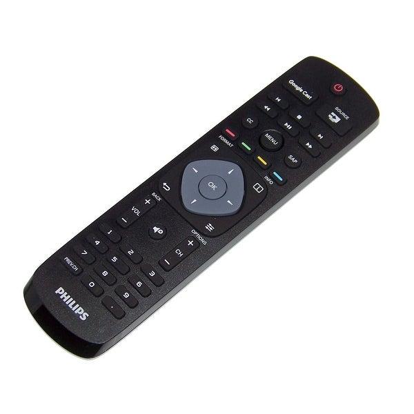 OEM Philips Remote Control Originally Shipped With: 55PFL6921/F7, 49PFL6921/F7, 65PFL6621/F7
