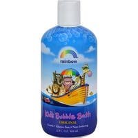 Rainbow Research - Organic Herbal Bubble Bath For Kids - Original Scent ( 3 - 12 FZ)