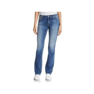 Joe's Jeans Womens Honey Bootcut Jeans Mid Rise Curvy Fit