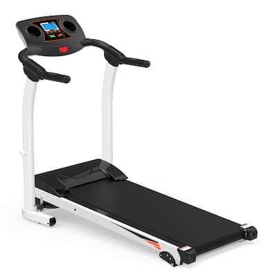 1200W Folding Electric Treadmill - 49.2 x 19.' x 44 (L x W x H)
