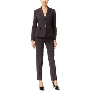 Tahari ASL Womens Pant Suit Pinstripe 2PC