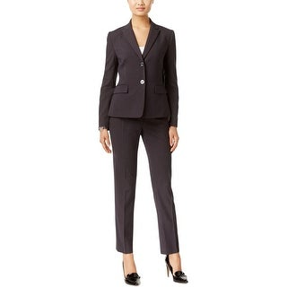 Tahari ASL Womens Pant Suit Pinstripe 2PC