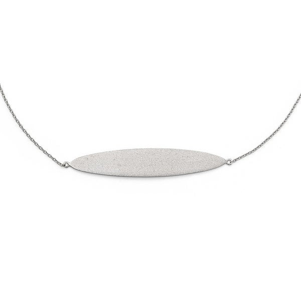 Sterling Silver Radiant Essence Necklace - 18 inches