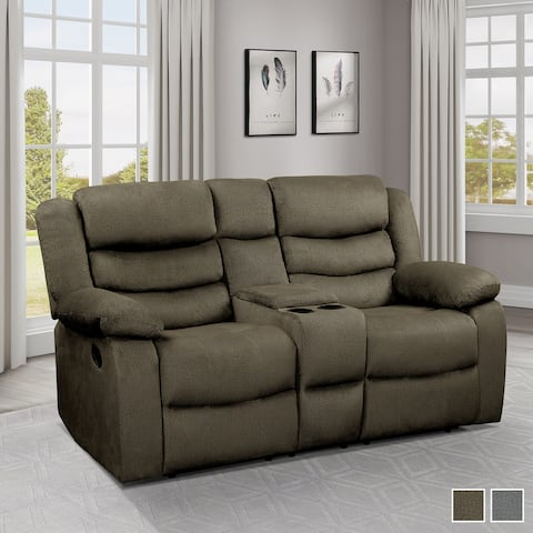 Hadden Double Reclining Loveseat with Console
