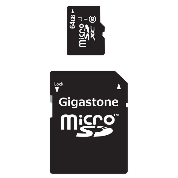 Gigastone 2-in-1 64GB MicroSD Mobile Kit