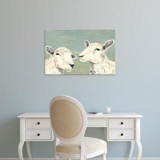 Easy Art Prints Jade Reynolds's 'Bashful Sheep I' Premium Canvas Art
